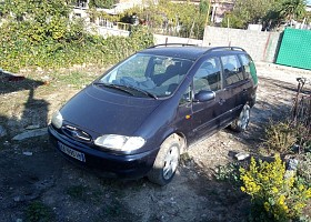 Ford Galaxy viti 1997, Blu, 204100km