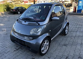 Smart ForTwo viti 2003, Grey, 0.7L, 103800km