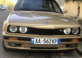 BMW 3 series viti 1986, Brown, 1.6L, 200000km