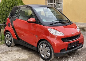 Smart ForTwo viti 2009, Red, 0.8L, 74400km