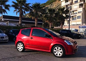 Citroen C2 viti 2004, Red, 1.6L, 100000km
