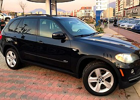 BMW X5 viti 2008, Black, 3.0L, 1km