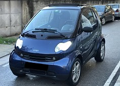 Smart ForTwo viti 2004, Blue, 0.6L, 189100km