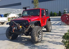 Jeep Wrangler viti 2008, Red, 94000km