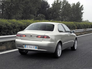 Alfa Romeo 156 back view