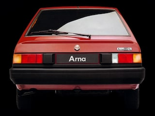 Alfa Romeo Arna back view