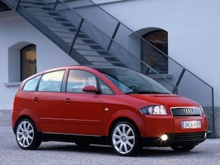 Audi A2 side view