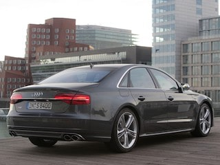 Audi S8 back view