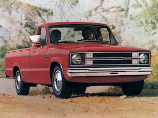Ford Courier back view