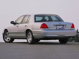 Ford Crown Victoria back view
