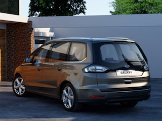 Ford Galaxy back view