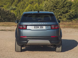 Land Rover Discovery Sport back view