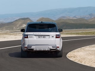 Land Rover Range Rover Sport back view