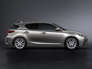 Lexus CT side view