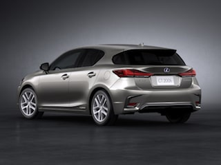 Lexus CT back view