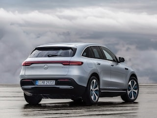 Mercedes-Benz EQC back view