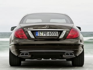 Mercedes-Benz CL back view