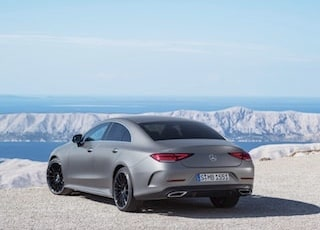 Mercedes-Benz CLS back view