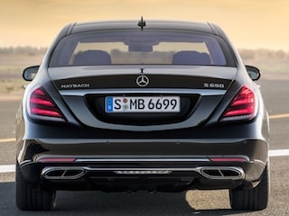 Mercedes-Benz Maybach S-Class back view