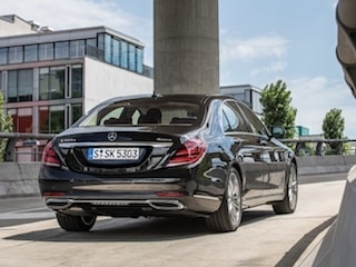 Mercedes-Benz S-Class back view
