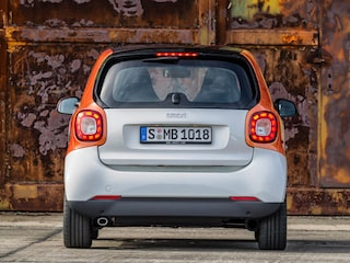 Smart ForTwo back view